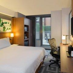 Отель Hilton Garden Inn New York/Central Park South-Midtown West 3* Номер Делюкс с различными типами кроватей фото 3
