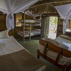 Отель Barefoot Manta Island 3* Кровать в общем номере с двухъярусной кроватью фото 3