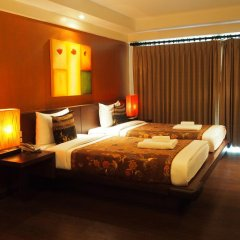 Отель Baan Suwantawe Студия с двуспальной кроватью фото 7