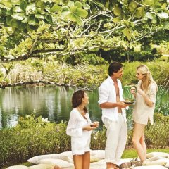 Отель Shanti Maurice Resort & Spa 5* Вилла Делюкс с различными типами кроватей фото 7