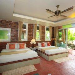 Отель Green View Village Resort 3* Стандартный семейный номер с двуспальной кроватью фото 7
