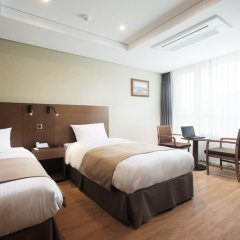 Crown Harbor Hotel Busan 3* Номер Делюкс с различными типами кроватей фото 2