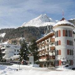 Отель Turmhotel Victoria Швейцария, Давос - отзывы, цены и фото номеров - забронировать отель Turmhotel Victoria онлайн спортивное сооружение