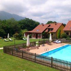 Отель La Lluriga бассейн