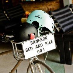 Отель Bangkok Bed And Bike Бангкок фитнесс-зал фото 2