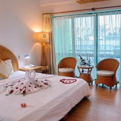 Green Hotel Nha Trang 3* Улучшенный номер фото 26
