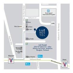 Luz Hostel Бангкок интерьер отеля фото 3