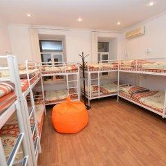 Хостел Абрикос Кровать в общем номере с двухъярусными кроватями фото 11