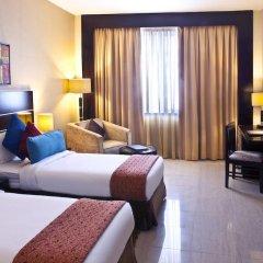 Landmark Hotel Riqqa 4* Стандартный номер с различными типами кроватей фото 2
