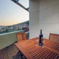 Апартаменты Sky View Luxury Apartments балкон