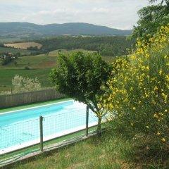 Отель Casale Biancospino Кьянчиано Терме бассейн