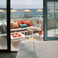 Отель Dream Inn Santa Cruz 4* Стандартный номер с различными типами кроватей фото 5