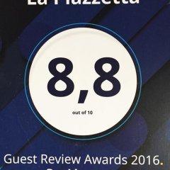 Отель La Piazzetta 2* Стандартный номер фото 11