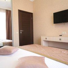 Гостиница Кристалл Стандартный семейный номер разные типы кроватей фото 6
