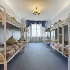 Хостел Достоевский Кровать в женском общем номере с двухъярусной кроватью фото 18