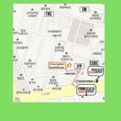 Отель Cheongdam Guest House городской автобус
