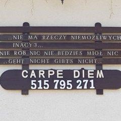 Отель Willa Carpe Diem Косцелиско спортивное сооружение