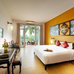 Отель Hoi An Beach Resort 4* Номер Делюкс с различными типами кроватей фото 11