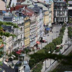 Отель Palacky Чехия, Карловы Вары - 1 отзыв об отеле, цены и фото номеров - забронировать отель Palacky онлайн балкон