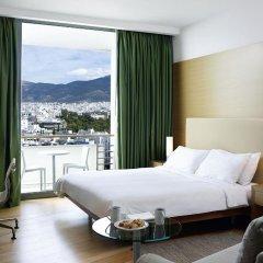 Отель Hilton Athens 5* Представительский номер разные типы кроватей фото 2