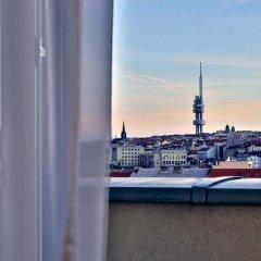 Отель Botanique Prague 4* Улучшенный номер с различными типами кроватей фото 10