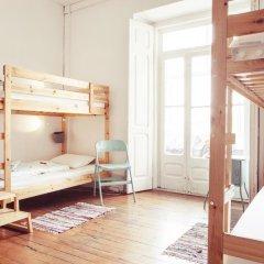 Lisbon Chillout Hostel Кровать в общем номере фото 13