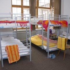 Rixpack Hostel Neukölln Кровать в общем номере с двухъярусной кроватью фото 12