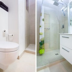 Отель Le Massena -Studio Франция, Ницца - отзывы, цены и фото номеров - забронировать отель Le Massena -Studio онлайн ванная фото 2