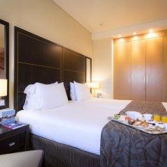 Отель Eurostars Monumental 4* Улучшенный номер с двуспальной кроватью фото 3