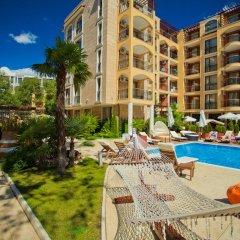 Отель Apartcomplex Harmony Suites Болгария, Солнечный берег - отзывы, цены и фото номеров - забронировать отель Apartcomplex Harmony Suites онлайн бассейн фото 3