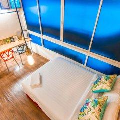 Отель Glur Bangkok Люкс повышенной комфортности разные типы кроватей фото 17