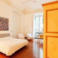 Отель Residenza D'Epoca di Palazzo Cicala 4* Стандартный номер с двуспальной кроватью фото 14