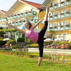 Отель Sport- & Wellnesshotel Angerhof фитнесс-зал