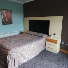 Отель Hilton Garden Inn Manchester Emirates Old Trafford 4* Представительский номер с различными типами кроватей фото 2