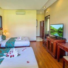 Отель Agribank Hoi An Beach Resort 3* Вилла с различными типами кроватей фото 2