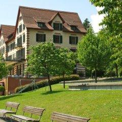 Отель Sorell Hotel Zürichberg Швейцария, Цюрих - 2 отзыва об отеле, цены и фото номеров - забронировать отель Sorell Hotel Zürichberg онлайн приотельная территория фото 2