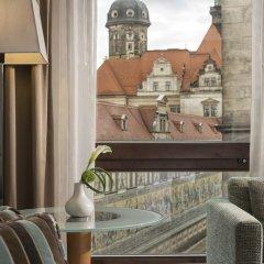 Отель Hilton Dresden 4* Стандартный номер с различными типами кроватей фото 2