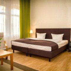 Отель Aparthotel am Zwinger 3* Апартаменты с различными типами кроватей фото 5