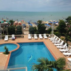 Hotel Vila Anna Дуррес бассейн фото 2