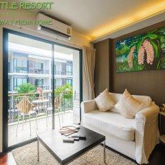 Отель The Title Phuket 4* Номер Делюкс с различными типами кроватей фото 15