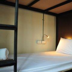 Sabye Club Hostel Бангкок комната для гостей