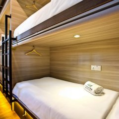 Capsule Pod Boutique Hostel Кровать в общем номере фото 11