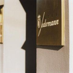 Hotel Jedermann 2* Номер с общей ванной комнатой с различными типами кроватей (общая ванная комната) фото 4