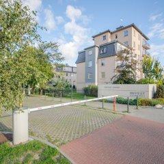 Апартаменты Dom And House Apartments Parkur Sopot Сопот спортивное сооружение