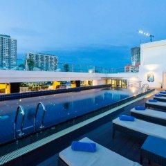 Отель Blue Boat Design Hotel Таиланд, Паттайя - отзывы, цены и фото номеров - забронировать отель Blue Boat Design Hotel онлайн бассейн