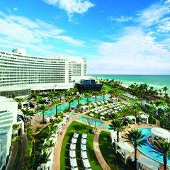 Отель Fontainebleau Miami Beach 4* Стандартный номер с различными типами кроватей фото 17
