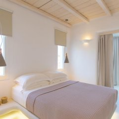 Отель Naxian Utopia Luxury Villas & Suites 3* Люкс с различными типами кроватей фото 3