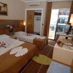 Oba Star Hotel & Spa - All Inclusive 3* Стандартный номер с различными типами кроватей фото 4