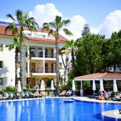 Kentia Apart Hotel Турция, Сиде - отзывы, цены и фото номеров - забронировать отель Kentia Apart Hotel онлайн бассейн фото 2
