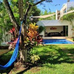 Отель Hostal Ecoplaneta Мексика, Канкун - отзывы, цены и фото номеров - забронировать отель Hostal Ecoplaneta онлайн бассейн